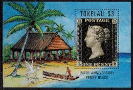 a5155 TOKELAU 1990,  �Stamp World London 1990� Stamp Exhibition, MNH