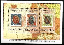 1993 ISLANDA Foglietto Nuovo ** MNH - 1944-... Republic
