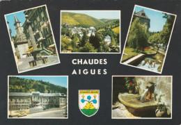 CHAUDES AIGUES (15) - 4 Cartes - Autres Communes