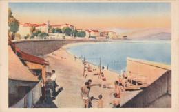 AJACCIO (20) - 2 Cartes - La Plage - Avenue Du 1er Consul - Ajaccio