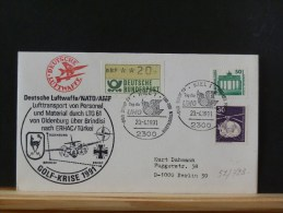 52/723  OBL.  ALLEMAGNE  1991 - Storia Postale