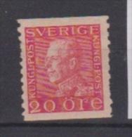 SUEDE  //  N 132   //  20 Ore Rose  //  NEUF + Trace De Charnière - Suède