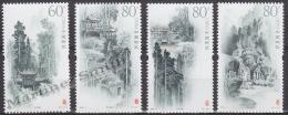 China 2006 Yvert 4356-59, Qingcheng  Mounts - MNH - 1949 - ... Volksrepubliek