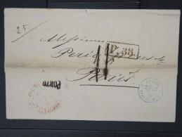 RUSSIE- Lettre ( Avec Texte) De St Petersbourg  Pour La France En 1870    A Voir  LOT P5132 - 1857-1916 Empire