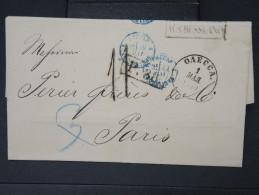 RUSSIE- Lettre ( Avec Texte) De Odessa  Pour La France En 1870    A Voir  LOT P5133 - 1857-1916 Empire