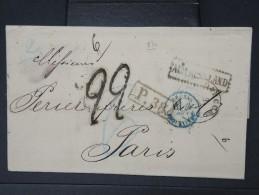 RUSSIE- Lettre ( Avec Texte) De Odessa  Pour La France En 1870    A Voir  LOT P5134 - 1857-1916 Empire