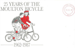 Cyclisme  1987 Moulton Bicycle - Wielrennen