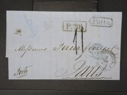 RUSSIE- Lettre ( Avec Texte) De St Petersbourg  Pour La France En 1866   A Voir  LOT P5135 - Briefe U. Dokumente