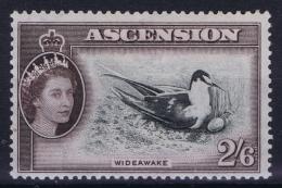 GB Ascension Island: 1953 SG Nr 67 MH/* , Mi Nr 72 Bird - Ascension