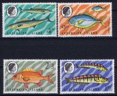 GB Ascension Island: 1970 SG Nr 126 - 129  , Mi Nr 130 - 133 MNH/** Fish - Ascension