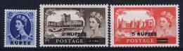 Oman British Postal Agencies , 1960 SG. 91-93, Mi 92 - 94 MH/* - Oman