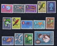 St Helena 1961 SG 176 - 189  Mi Nr 146 - 159 MNH/** And MH/* High Values Are MNH/** - Saint Helena Island