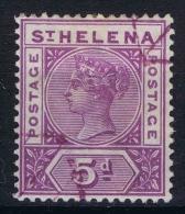 St Helena 1890 SG 51  Mi Nr 26 Used - Saint Helena Island