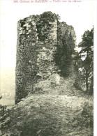 Mauzun. La Tour Du Chateau De Mauzun. - France