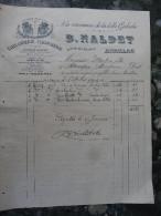 "Taillanderie Galocherie ""A La Renommee De La Belle Galoche ""B Naldet   Aurillac 1904 - 1900 – 1949"