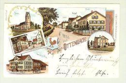 AK ZH Ottenbach 1903-04-21 Litho H.Guggenheim # 10259 - ZH Zurich