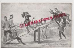 MILITARIA GUERRE 1914-1918-  AU REVOIR ET MERCI- ALLEMAGNE ALLEMANDS- CASQUE A POINTE - Guerre 1914-18