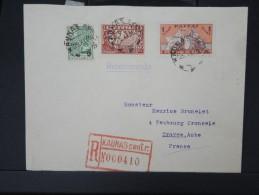 LITUANIE-Enveloppe En Recommandée De Kaunas Pour La France En 1936  Aff Plaisant  A Voir Lot P5154 - Lithuania