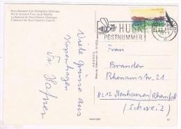 T7. Danmark. Husk Postnummer. Kobenhavn 22 Aug 1977.+ Abeille. - Api