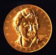 Médaille En ARGENT - Vermeil  De Gérard PHILIPE - 1922 / 1955 - Graveur A.RAOULT - 1961 - France