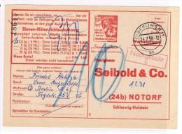 T7. Carte Commerciale Seibold. Sonnenschein Biennenhonig = Miel. + Abeille. Berlin SW11. 24.7.58 - Api