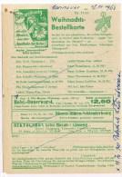 T7. Carte Commerciale Seibold. Divers Alliments + Biennenhonig = Miel. + Abeille. Hannover 16.11.63. - Api