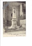 21 - SAVOISY - Côte D´Or - LE MONUMENT AUX MORTS DE LA GRANDE GUERRE - N°10 Edit.H. Couron Avallon - Otros Municipios