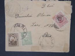 ROUMANIE-Enveloppe De Barlad Pour Paris En 1919 Avec Cachet De Censure   A Voir Lot P5159 - Marcofilia