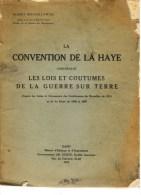 Albert Mechelynck, La Convention De La Haye [sur La Guerre], Gand 1915 - Guerre 1914-18