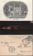 97) SAN PELLEGRINO GRAN KURSAAL VAL BREMBANA VIAGGIATA 1907 - Bergamo