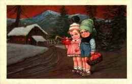 E Colombo - Couple à La Montagne Panier De Pommes (GMA 2140) - Colombo, E.