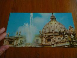 CB6 LC114 KLM Royal Dutch Airlines - Carte Touristique Rome - Stationery