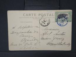 """CONGO BELGE- OBL DE """"MATAG ?"""" sur cp en 1917    a voir lot P5166"""
