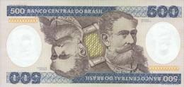 Brasil 500 Cruzeros 1985 Pick 200b UNC - Brasile