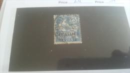 LOT 259334 TIMBRE DE COLONIE LEVANT OBLITERE N�24 VALEUR 37 EUROS DEPART A 1€