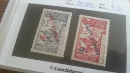 LOT 259357 TIMBRE DE COLONIE INDE NEUF*  N�175/176 VALEUR 11 EUROS DEPART A 1€