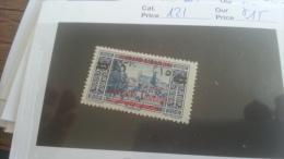 LOT 259361 TIMBRE DE COLONIE GRAND LIBAN  NEUF*  N�121 VALEUR 15 EUROS DEPART A 1€