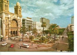 CP - PHOTO - TUNIS - AVENUE HABIB BOURGHIBA - Túnez