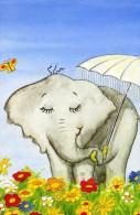 """ANIMAUX  SAUVAGES  L 2  """"  ELEPHANT   """"    CPM / CPSM  10X15 - Éléphants"""