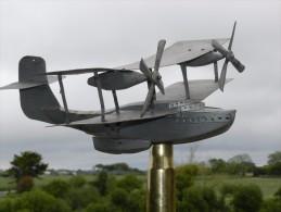 SUPERBE MAQUETTE - GIROUETTE HYDRAVION Années 1930 !!! à Voir !!! -------- - Aviation