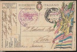 102) CARTOLINA FRANCHIGIA 20° COMANDO AUTOREPARTO TIMBRO POSTA MILITARE 1940 - 1900-44 Vittorio Emanuele III