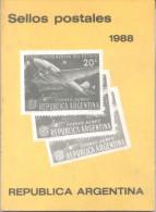 CATALOGO DE SELLOS POSTALES DE LA REPUBLICA ARGENTINA 1988 MIROSLAVO SAMOWERSKYJ  COMPLETADO POR PETROVICH - Postzegelcatalogus