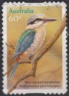 Australia, 2010 - 60c Red-backed Kingfisher - Usato° - 2010-... Elizabeth II