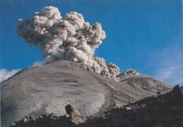 Lot de 2 CPM P�rou le volcan Sabancaya