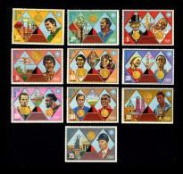 Haiti - Munich Munchen 1972 Olympic Games - Olimpiadi - 1972 - 10 Stamps + ** (byMau) - Haïti
