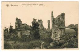 Warneton, Cimetière Eglise Et Entrée Du Château (pk20087) - Comines-Warneton - Komen-Waasten