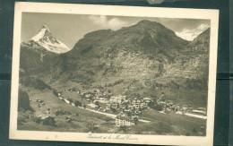 Hermatt Et Le Mont Cervin        - Ram018 - VS Wallis