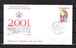 """Enveloppe 1er Jour De 2001 """" NOEL 2001 """" N° YT 2317. Parfait état. FDC - FDC"""