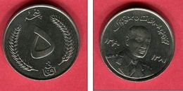5 AFGANI     1961  ( KM 955 )    TB+  5 - Afghanistan