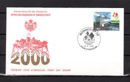 """Enveloppe 1er Jour De 2000 """" EXPOSITION UNIVERSELLE EXPO 2000 A HANOVRE """" N° YT 2252. Parfait état. FDC - FDC"""